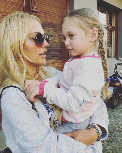 Дочери актрисы Ларе недавно исполнилось шесть лет