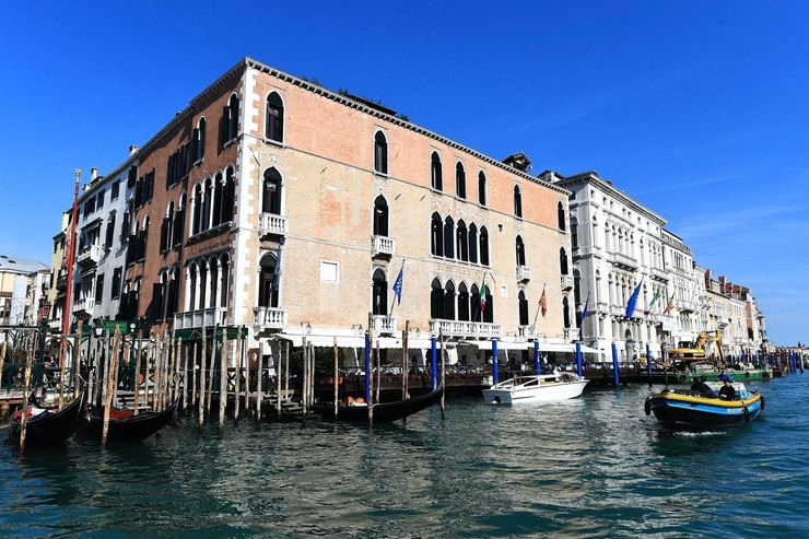 Съемки должны были состояться в Венеции