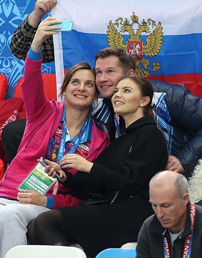 Елена Исинбаева, Алексей Немов и Алина Кабаева