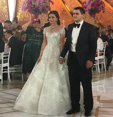Самвел Карапетян женил младшего сына
