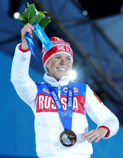 Конькобежка Ольга Граф -  хоть и бронзовая, но первая медаль Игр