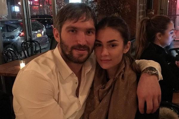 Александр Овечкин с женой