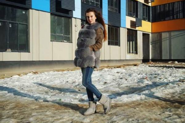 Ольга Ветер на территории ЖК «Новый Зеленоград»