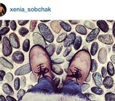 Как называется обувь Ксении Собчак, и с чем ее носить