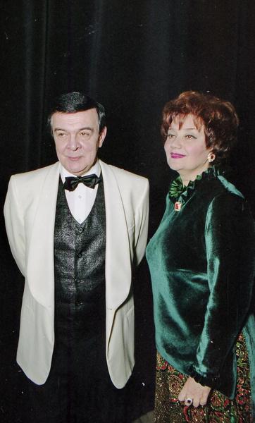 Муслим Магомаев и Тамара Синявская в браке 34 года