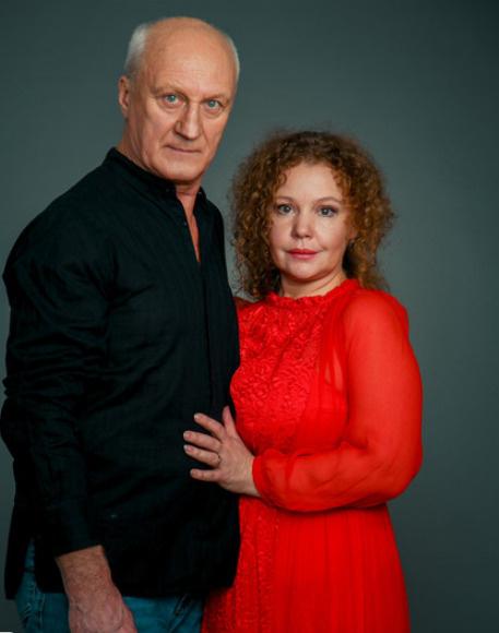 Татьяна вместе с мужем Юрием Беляевым