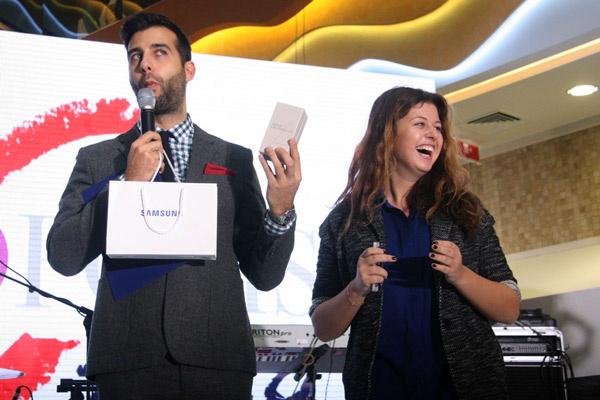 За победу в конкурсах дарили серьезные призы