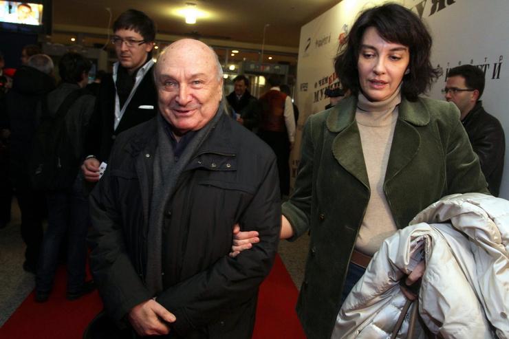 Сатирик с женой Натальей Суровой