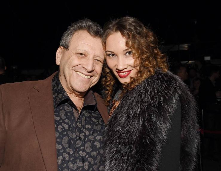 Борис Грачевский с последней женой Екатериной
