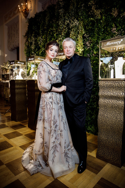 Александр Стриженов с младшей дочкой Александрой