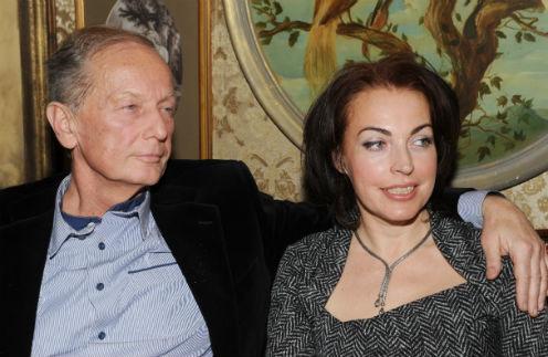 Михаил Задорнов с супругой Еленой