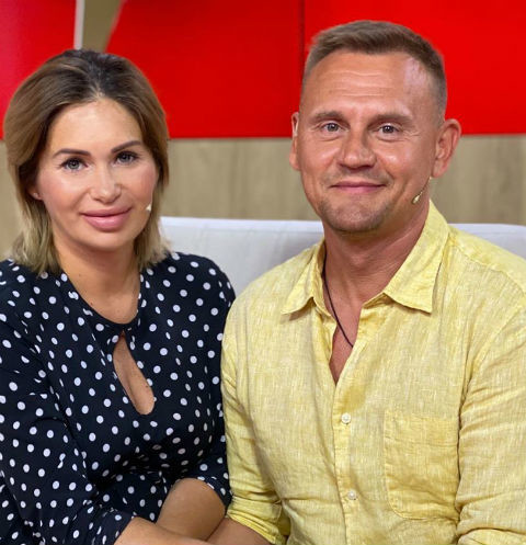 Ангелина Монах и Степан Меньщиков