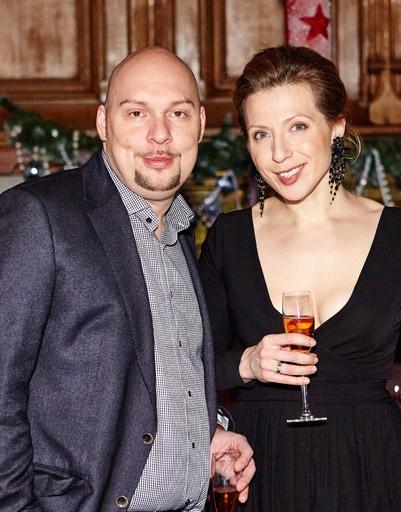 Яна Чурикова с супругом