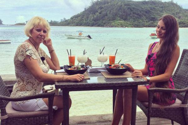 Мама Ольги Рапунцель провела на Сейшелах несколько дней, но успела полюбиться телезрителям