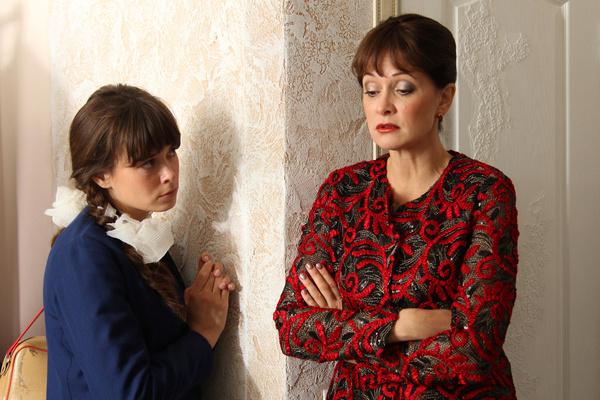 Актрису часто приглашают в сериалы