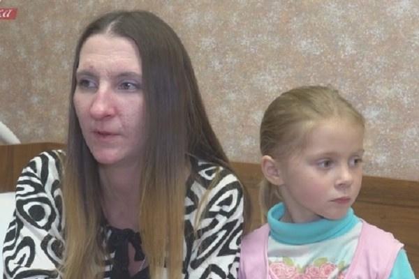 Людмила Лемох встретилась с дочерью Мариной