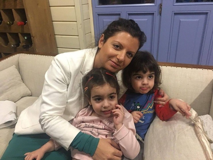 Маргарита с детьми