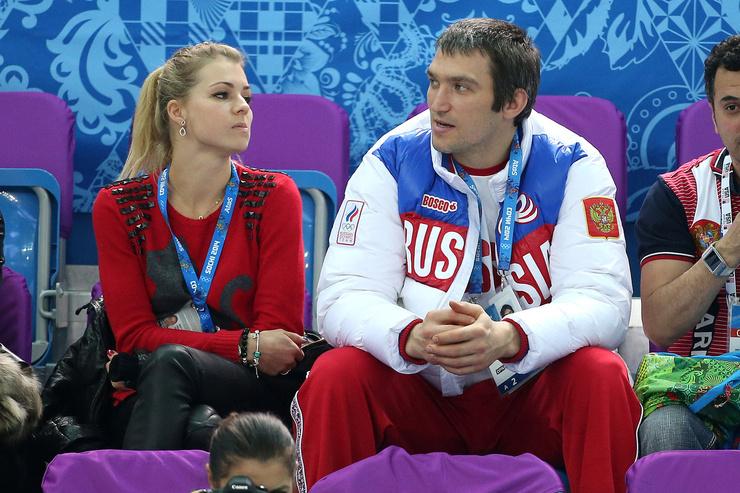 В 2012-м Овечкин был помолвлен с теннисисткой Марией Кириленко