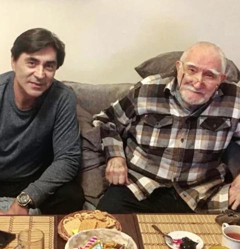 Сын Армена Джигарханяна встречается с моделью из Америки