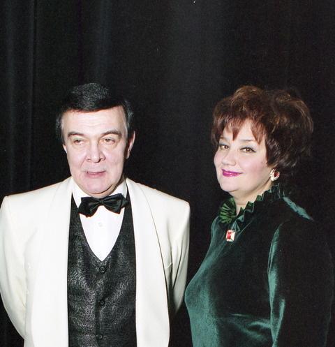 Тамара Синявская и Муслим Магомаев