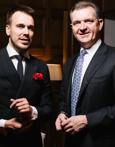 Посол Австралии Питер Теш и Михаил Зыгарь