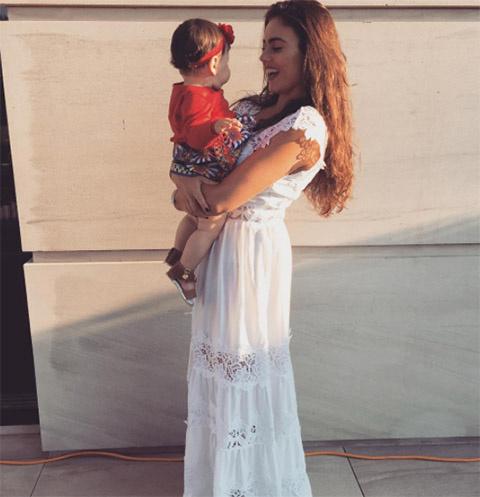Виктория Крутая с дочкой Дэми Роуз