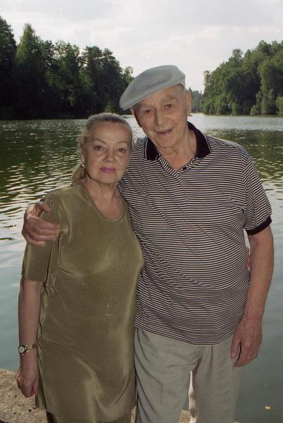 Игорь Моисеев с супругой