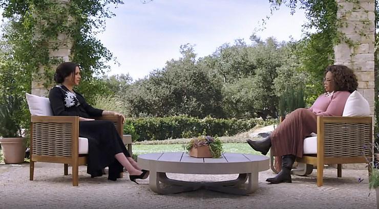 Супруга принца давала интервью Опре