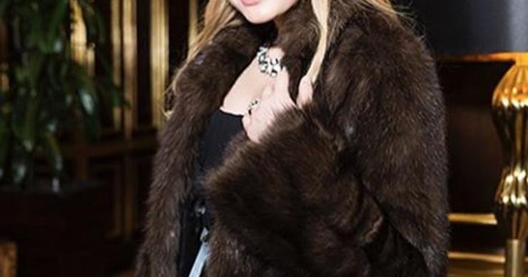Дочь Ренаты Литвиновой разделась в сильный мороз