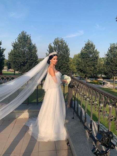 Невеста похвасталась нежным образом
