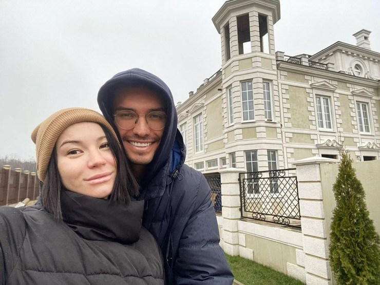 Ида Галич с экс-возлюбленным Аланом