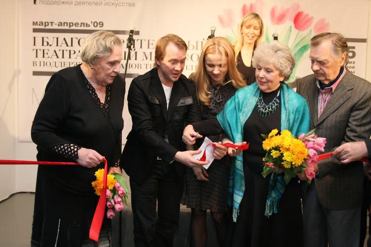 Вера Васильева принимает участие во всех важных мероприятиях театра