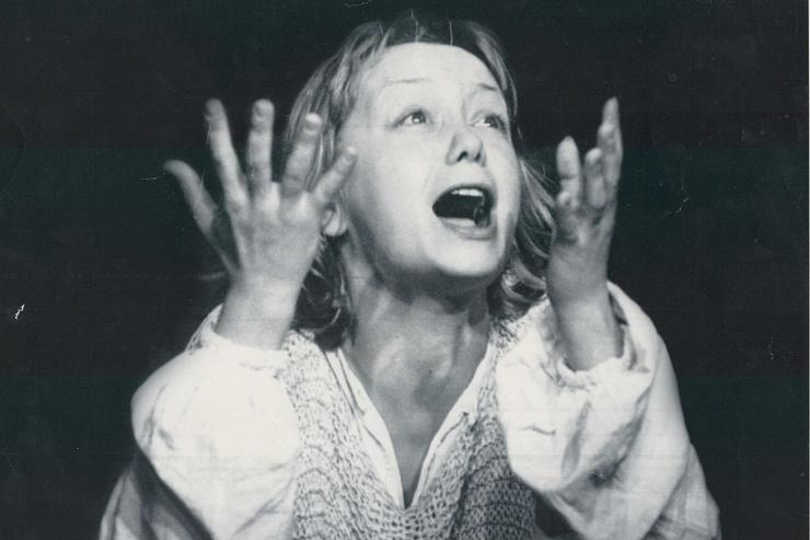 Олег Табаков доверил актрисе главную роль в спектакле «Жаворонок»