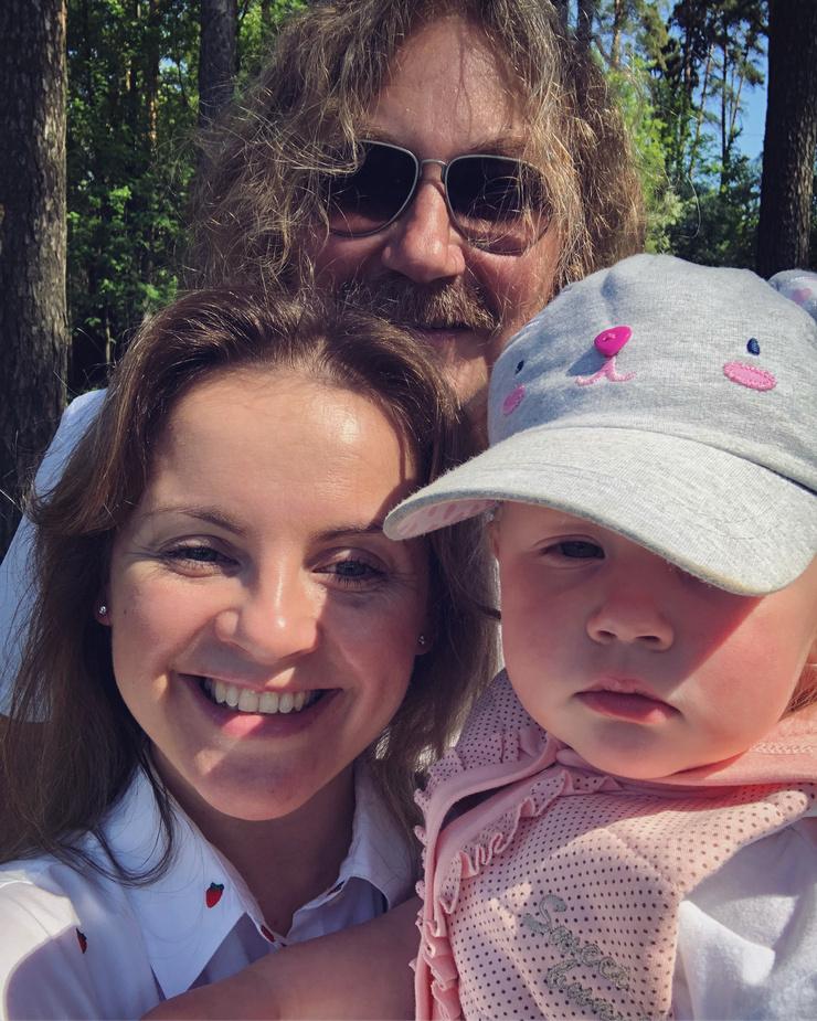 «Лес, природа и семья. Это здорово всегда!» – подписала кадр Юлия