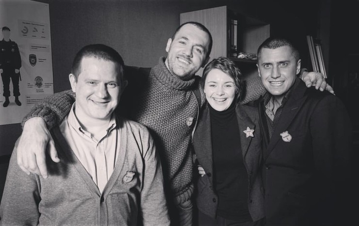 Павел Прилучный придумал много шуток во время съемок сериала