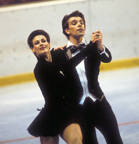Ирина Моисеева и Андрей Миненков