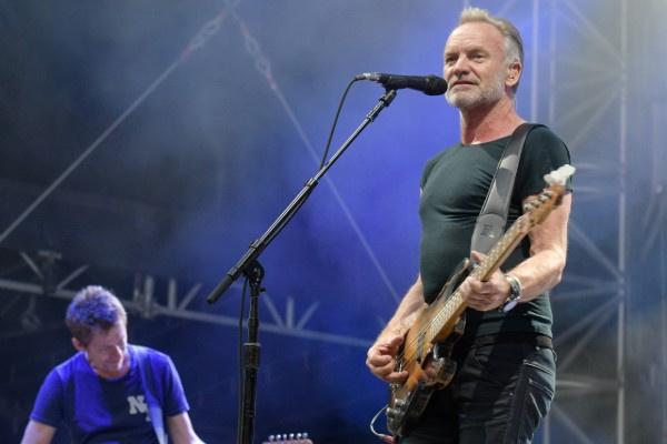 Недавно Стинг выступал на рок-фестивале в Австрии