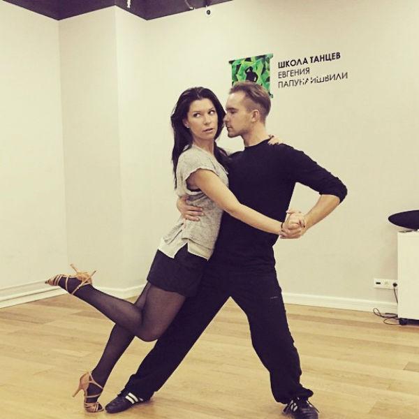 В новом сезоне шоу Екатерина Волкова танцует в паре с Михаилом Щепкиным