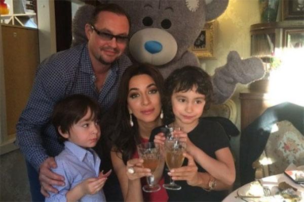 Певица Зара и ее бывший муж Сергей Иванов поддерживают отношения ради детей