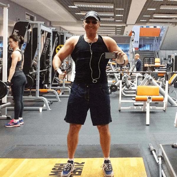 Алексей регулярно занимался спортом