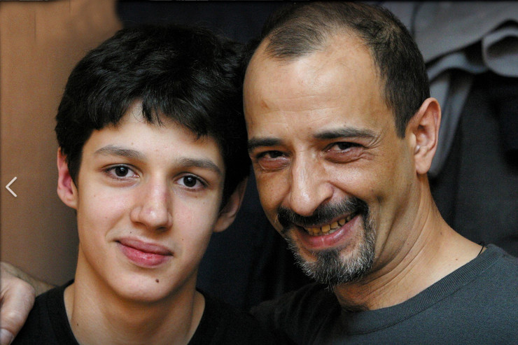 Сын и внук Тамары Миансаровой