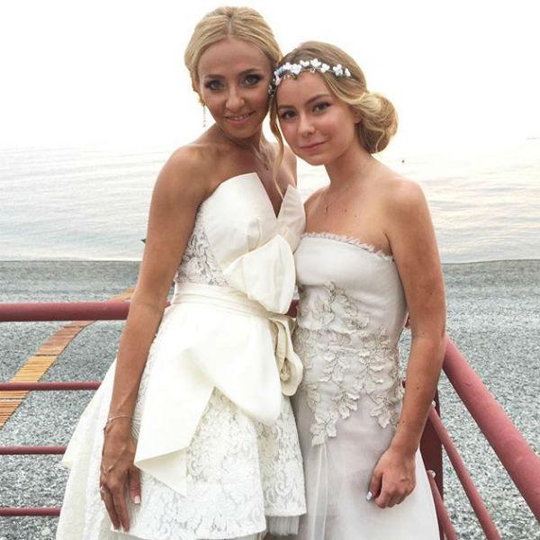 Невеста с дочерью Александрой