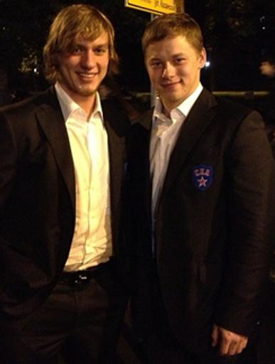 Победители. Игорь Макаров - слева