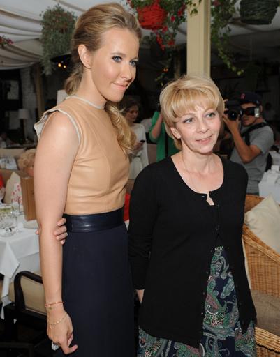 Ксения Собчак и Елизавета Глинка