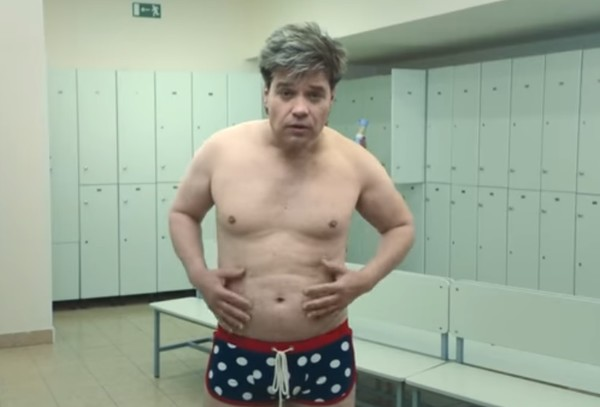 Вячеслав Жеребкин набрал 10 килограмм для съемок в клипе