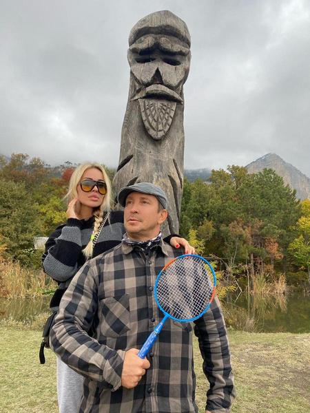 Данко с невестой Марией Силуяновой