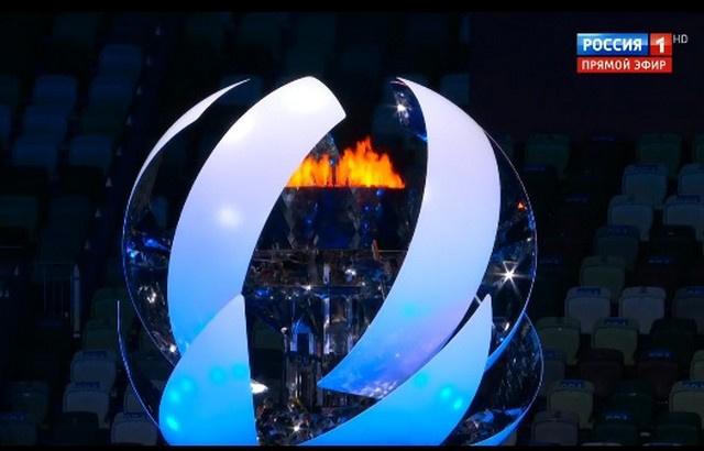 Олимпийский огонь погас