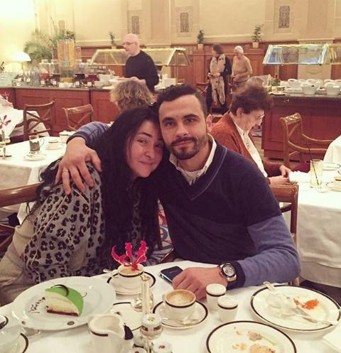 Лолита Милявская с супругом Димитрием