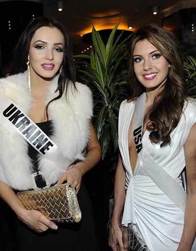 Мисс Украина и мисс США