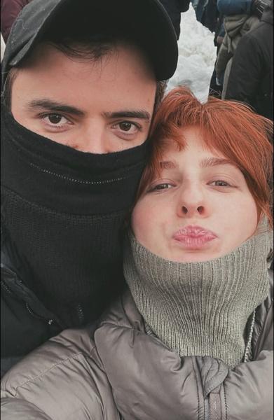 Пара впервые поделилась совместным фото